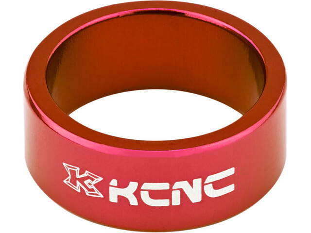 """KCNC Headset Spacer 1 1/8"""" 14mm rot"""